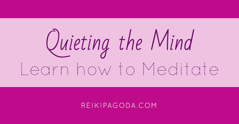 Quieting the mind - Learn how to Meditate by Nikki Ackerman